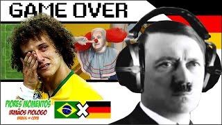getlinkyoutube.com-Brasil X Alemanha - Piores Momentos da Copa 2014