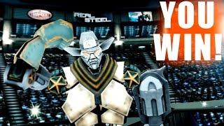 getlinkyoutube.com-Real Steel WRB TOURNAMENT The Sheriff of Robotown VS WRB GOLD NO BOOST (Живая Сталь)