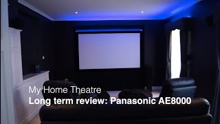 getlinkyoutube.com-Panasonic PT-AE8000EZ Projector long term review | My home theatre (part 12)