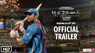M.S.Dhoni - The Untold Story | Official Subtitled Trailer | Sushant Singh Rajput | Neeraj Pandey