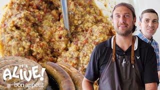 Brad Makes Mustard | It's Alive | Bon Appétit width=