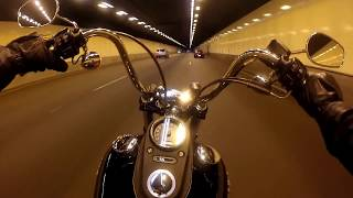 getlinkyoutube.com-What Harley Davidson sound like when you are riding it legally