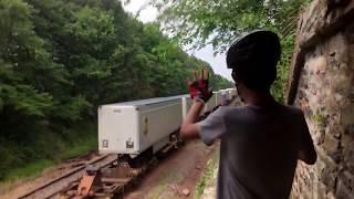 getlinkyoutube.com-INSANELY RARE TRAIN HOPPERS CAUGHT ON VIDEO
