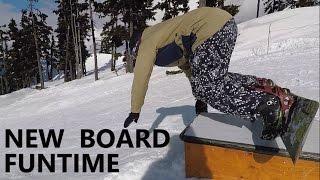 First Day On New Snowboards, Salomon Huck Knife & Burton Process