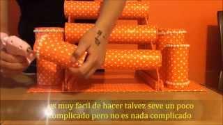 getlinkyoutube.com-DiY : organizador de pulceras (reciclaje) manualidades faciles