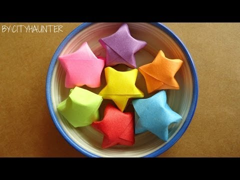 Como hacer estrellitas de papel