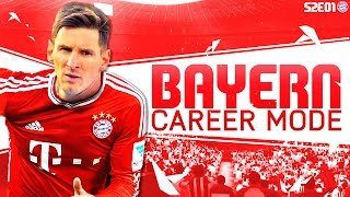 getlinkyoutube.com-FIFA 16 Bayern Munich Career Mode - Signing Messi - S2E01