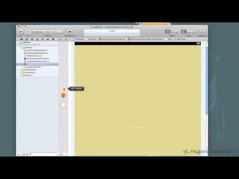 Xcode 4 Tutorial iOS iPad iPhone 15 Load Webpage UIWebView