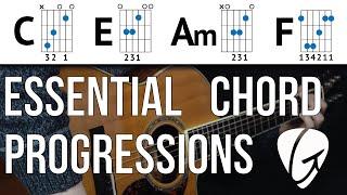 Chord Progression Practice - C E Am F