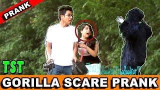 Gorilla Scare Prank | India | TroubleSeekerTeam | Pranks in India | TST Pranks