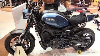 getlinkyoutube.com-2016 Yamaha XSR900 ABS - Walkaround - Debut at 2015 EICMA Milan