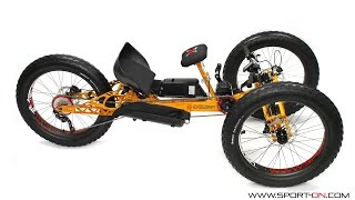 FAT Explorer. Off-Road Handcycle