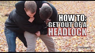 getlinkyoutube.com-How to Get Out of a Headlock