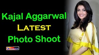 Kajal Aggarwal Latest Photo Shoot | Kajal Aggarwal Stills At Kajal Aggarwal Mobile App Launch | TTM