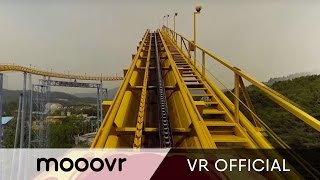 getlinkyoutube.com-[Extreme] 360° RollerCoaster at Seoul Grand Park