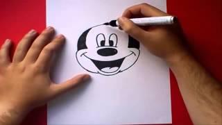 getlinkyoutube.com-كيفية رسم ميكي ماوس