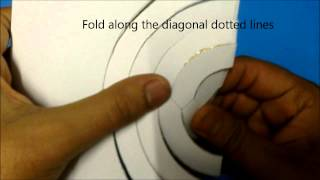 getlinkyoutube.com-Kirigami 3 spinning cirkels
