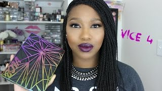 NEW Urban Decay Vice 4 | Swatches!!