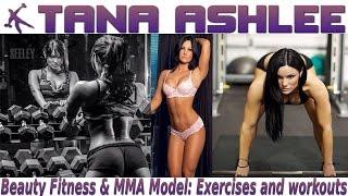 getlinkyoutube.com-TANA ASHLEE - Beauty Fitness & MMA Model: Exercises and workouts @ USA