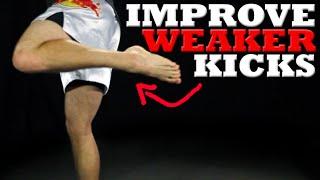 getlinkyoutube.com-How to Improve Kicks with the Left (or Weaker) Leg