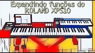Controlando o Roland XPS10 com AMW mini32P