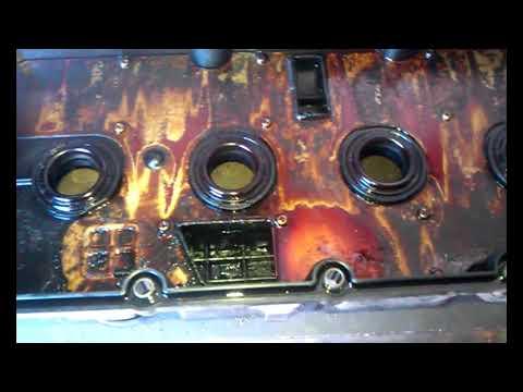 Kia sportage 2008 замена прокладки клапанной крышки