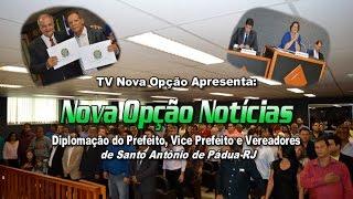Diplomação de Prefeito, VicePrefeito e Vereadores de Pádua-RJ