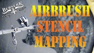 Airbrush Stencil Mapping