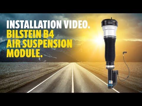 BILSTEIN Installation instructions B4 air suspension module - Audi A8 4H front axle