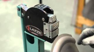 """getlinkyoutube.com-Metal Shaping with Lazze: Bead Roller and Shrink/Stretch Combination. """"Things that you can not do""""."""
