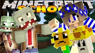 getlinkyoutube.com-Minecraft School- Little Carly - PLANTS VS ZOMBIES!