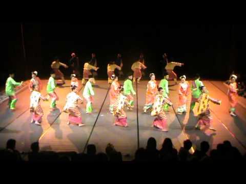 Malaysian Dance PeTA TARI ASWARA 2012 - Tarian Zapin (Zapin Malaysia, Zapin Pekan, Zapin Putar Alam)