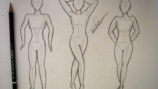 getlinkyoutube.com-طريقة رسم الجسم بالرصاص مع ثلاث طرق مختلفة للرسم