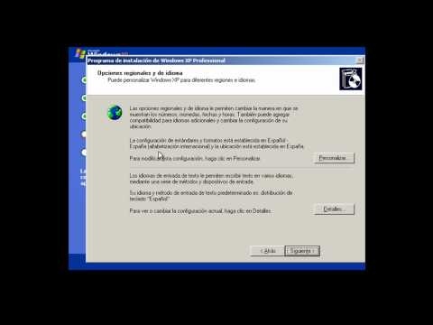 Formatear y instalar windows xp -8mVY4Qr2jtk