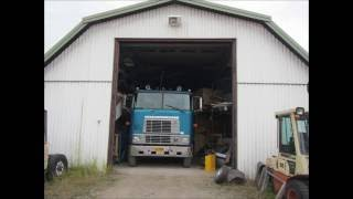 getlinkyoutube.com-International 9670 Cabover -81 test drive 25.09-16
