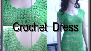 getlinkyoutube.com-Crochet Summer Dress Tutorial Part 1 of 4 (How To Make The Foundation)
