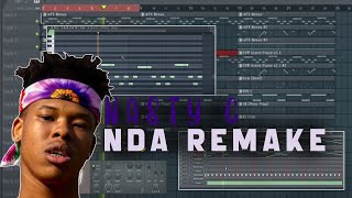 How To Make A Nasty C x Nda Type Beat (FL STUDIO 12 Tutorial)