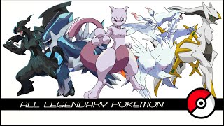getlinkyoutube.com-All Legendary & Mythical Pokemon (伝説のポケモン)