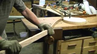 getlinkyoutube.com-Bent Wood Steering Wheel Restoration.mpg