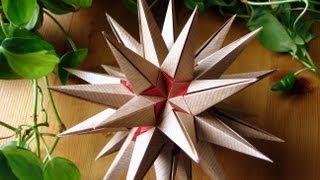 getlinkyoutube.com-Origami ✫ Estrellamar ✫ Kusudama