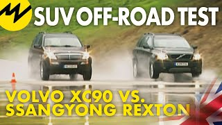 getlinkyoutube.com-Volvo XC90 vs. Ssangyong Rexton
