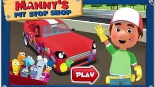 getlinkyoutube.com-Handy Manny's Pit Stop Shop Disney Jr Online Games 2015
