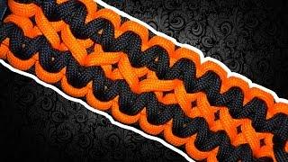 "getlinkyoutube.com-""На паракорде"" Двойная кобра (Double Cobra Paracord Bracelet)"