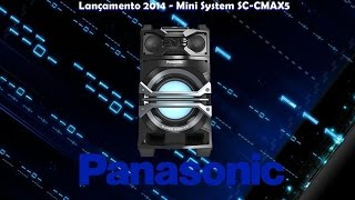 getlinkyoutube.com-Lançamento 2014 - Mini System Panasonic SC-CMAX5