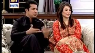 getlinkyoutube.com-Iqrar Ul Hassan telling how he met his wife and how they got married