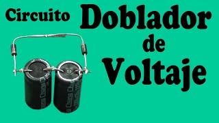 getlinkyoutube.com-Circuito Doblador de Voltaje Casero (muy fácil de hacer)