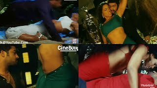 Sameera Reddy Hot Saree Movements - CineBulk