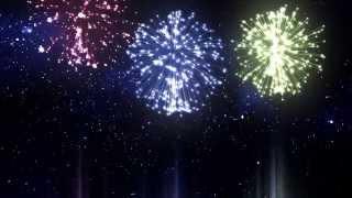 getlinkyoutube.com-Chroma Key Colour Fireworks Party HD - Footage PixelBoom
