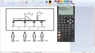 getlinkyoutube.com-Programa viga G. Emulador calculadora Hp50g