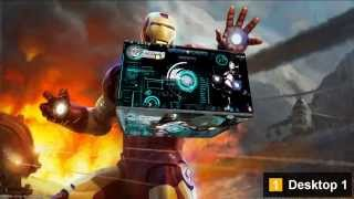 getlinkyoutube.com-Iron Man 3D Theme For Windows 7